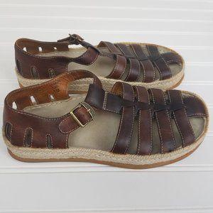 Earth Women's Splendor Ochre Sandals 7.5